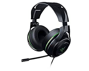 Razer RZ04-01920300-R3M1 ManO'War 7.1 - Analoges Virtuell Surround Sound Gaming Headset (Geräuschisolation & Integrierte Steurung, Grün)