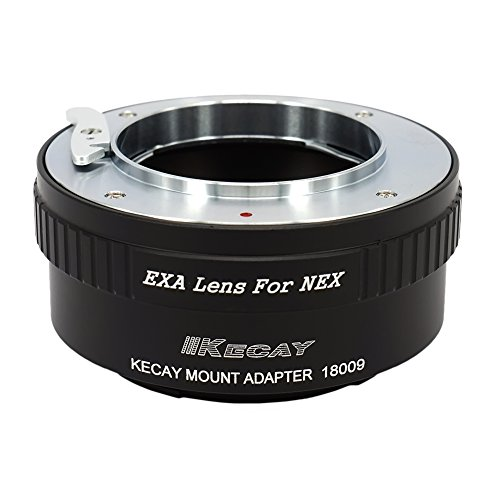 KECAY Objektiv Adapterring Mount Converter: Kompatibel mit Exakta Objektivbajonett auf Sony NEX E-Mount Kamera NEX-3 NEX-5 NEX-5C NEX-5N NEX-5R NEX-6 NEX-7 NEX-F3 VG10 VG20 EXA-NEX