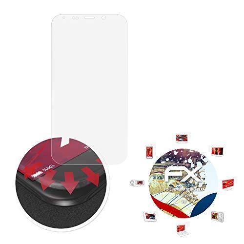 atFolix Schutzfolie passend für Bluboo S8 Folie, entspiegelnde & Flexible FX Bildschirmschutzfolie (3X)