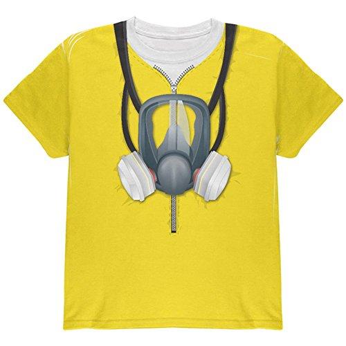 Lab Herd Hazmat Anzug Kostüm auf der ganzen Jugend T Shirt Multi (Hazmat Kostüm Anzüge)