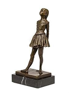 Statuette de ballerine - imitation Degas - style ancien - bronze