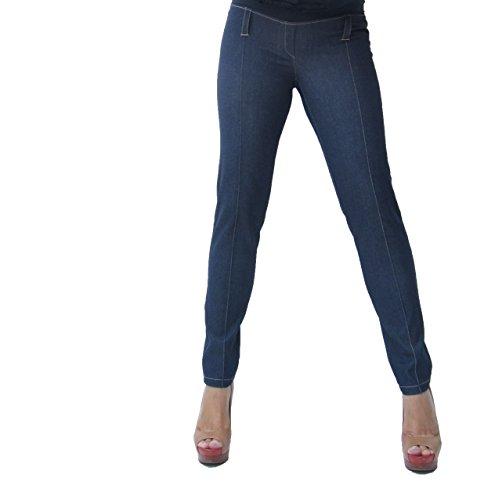 Mia maternity - Pantalon spécial grossesse - Femme S, M,L,XL Bleu foncé denim