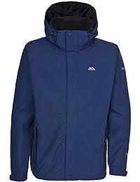 Trespass - Cazadora / Abrigo impermeable con capucha Modelo Edwards para hombre caballero