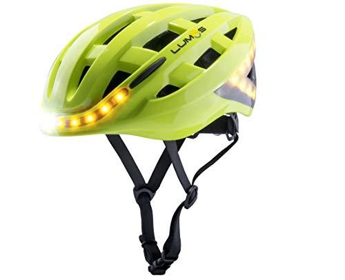 Lumos Kickstart Fahrradhelm, Lime Green, One Size