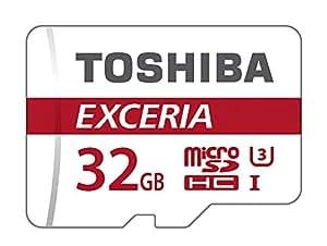 Toshiba Exceria Scheda di memoria, microSDHC, 32GB, Classe 10, con adattatore