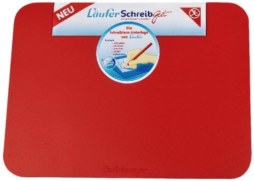 Läufer 30917 SchreibGut Schreibtischunterlage zum Schreiben lernen, 33,5 x 45 cm, rot, für den perfekten Schulanfang