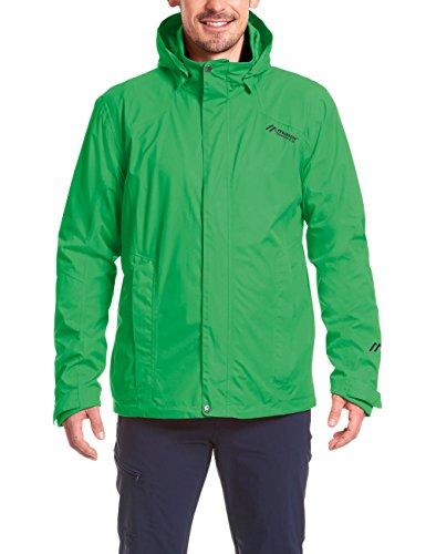 MAIER SPORTS Funktionsjacke Metor M aus 100% PES in 22 Größen, Packaway-Jacke/ Outdoor-Jacke/ Herren Jacke, wasserdicht und atmungsaktiv fren green