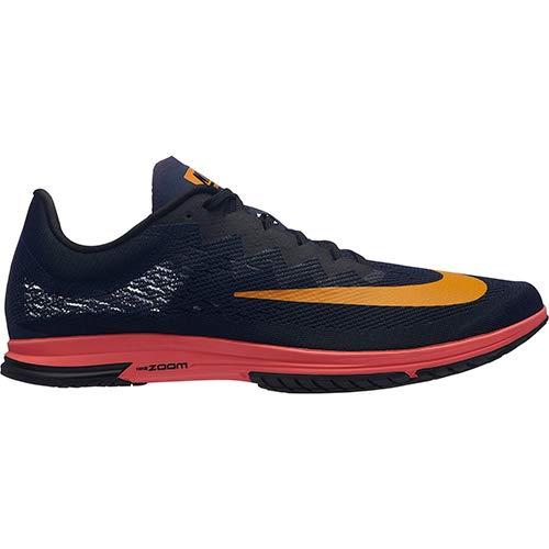 Nike air zoom streak lt 4, scarpe da running unisex-adulto, blu nerastro/arancione/nero (blackened blue/orange peel/black 480), 44 eu