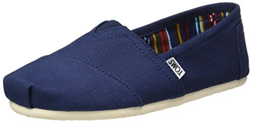 TOMS Men's Canvas Classics Alpargata Nl Espadrilles, Blue (Navy), 9.5 UK (43.5...