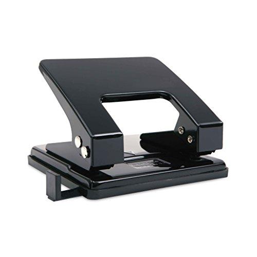 Rapesco 80 Locher (2-fach Bürolocher, etwa 18 Blätter) Schwarz metall