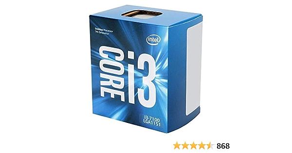 Intel Core I3 7100 Prozessor Der 7 Generation Computer Zubehör