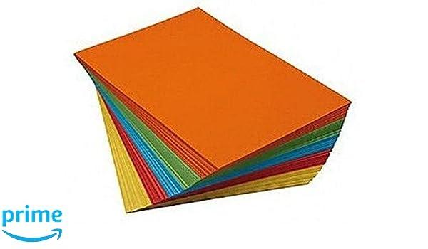 Stylex A3 Tonzeichenpapier 10 Farben 10 Blatt 120g//m² Papier