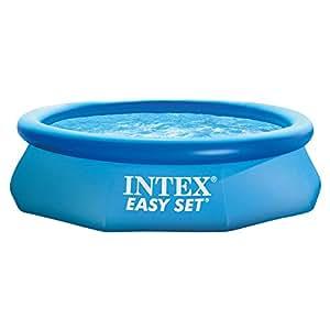 Intex 28122 piscina rotonda easy set 305x76 cm con pompa for Piscine intex amazon