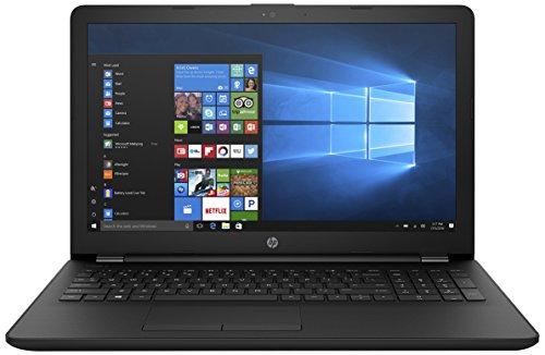 HP 15-bg008AU 15.6-inch Laptop (E2-7110/4GB/500GB/Windows 10 Home/Integrated Graphics), Jack Black image