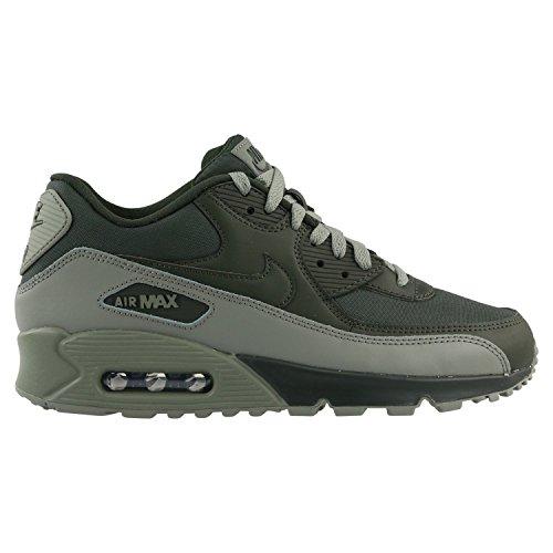 Nike Air Max 90 Essential, Sneakers Basses Homme, Vert dunkelgrün/Grau, 40 EU