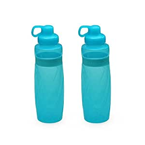 Cello Fit & Fresh Yuva Bottle, 1 Litre, Set of 2