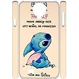 New Fashion 3D SamSung Galaxy S4 I9500 Case, Lilo and Stitch quote Custom Phone Case
