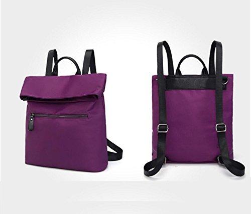 RAN Frau Freizeit Reisetasche Rucksack Rucksack purple