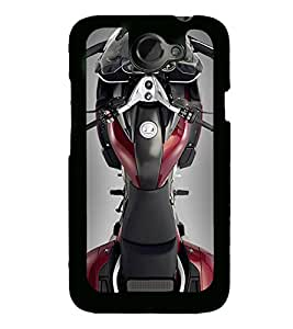 PrintVisa Designer Back Case Cover for HTC One X :: HTC One X+ :: HTC One X Plus :: HTC One XT (Bike Motor Cycle Sports bike)