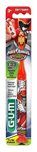 Image of Gum Toothbrush Power Ranger 1-Minute Timer