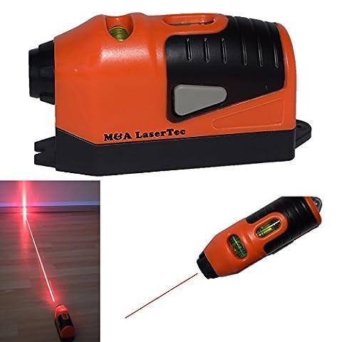 Laser-Wasserwaage Laserwasserwaage-Laser Wasserwaage-Wasserwaage mit Laser-Mini Laserwasserwaage-Lasermarker- zum Heimwerken und Renovieren.