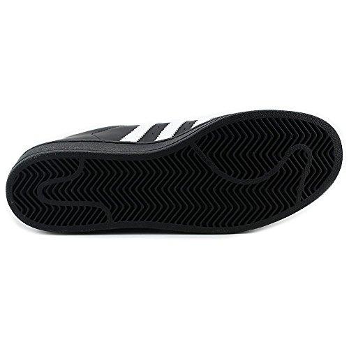 Adidas B27139, Herren Basketballschuhe Schwarz/Weiß