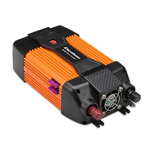 Excelvan Wechselrichter 500W Auto Power Inverter 12V DC auf 230V AC mit AC Outlet und USB Hafen für Laptops Tablet Smartphone und andere elektronische Geräte