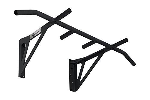 Hold Strong Gym Pull Up Bar in acciaio con manico 6/da parete Professionale e approvato EN 957/10anni di garanzia/nero HS K/w6s
