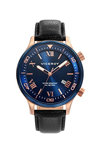Viceroy 471153 – 33 Men's Quartz Watch Steel IP Rose Strap Size 42 mm
