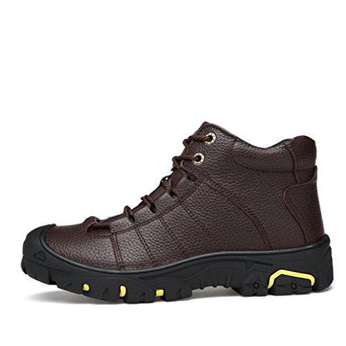 Xi-gua, Chaussures De Marche Et De Randonnée Man Brown