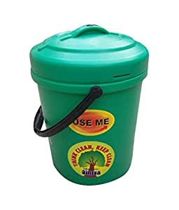 Sintex BKT Plastic Household Bucket, 20 liter, Green