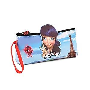 Karactermania Ladybug Courage-Go Pencil Case Estuches 22 Centimeters Azul (Blue)