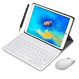 4G Tablette Tactile 10 Pouces WiFi 3GO RAM 64GO/128Go ROM Quad Core Tablette Android 8.1 avec Stylet Tactile OTG et Google Play 5MP+8MP Caméra Dual Carte SIM Tablette PC Portable Pas Cher(Or)