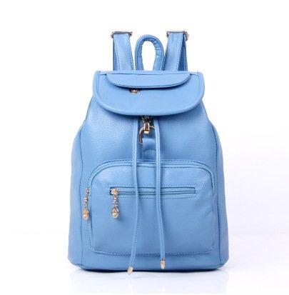 Mefly Zaino Indossabile Versione Coreana Di Tendenza Ragazze Blu Di Viaggio blue