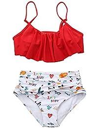 Amazon.es  traje surf mujer - Bikinis   Ropa de baño  Ropa 81d0f169dab