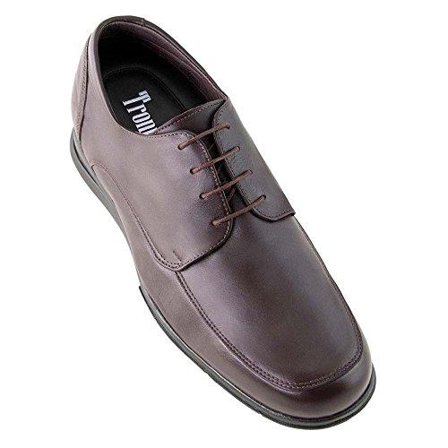 Hauteur Croissante Des Chaussures Jusqu'à 7cm. Fabriqué En Cuir Flex Nature C Modèle Brown