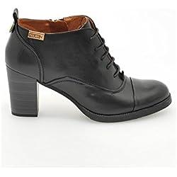 Pikolinos , Damen Desert Stiefel , schwarz - Schwarz - Größe: EU 40