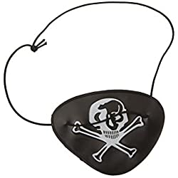 Parche de pirata, especial grumetes, talla única.