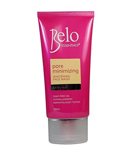 Belo Essentials Pink Whitening Face Wash 50ml Pore Minimizing by Belo Essentials - 50 Ml Face Wash