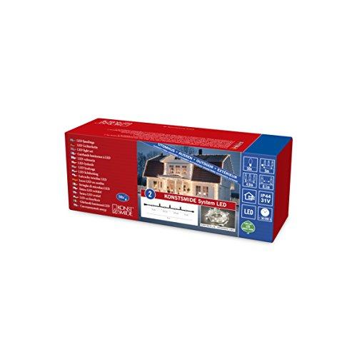 Konstsmide 4850-103 Extension pour Système LED Plastique, 3 W, Multicolore, 500 x 1 x 1 cm