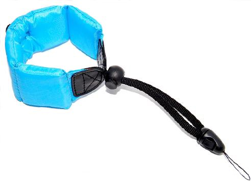 Armschlaufe Meerblau für Kompaktkameras und Unterwassermodelle