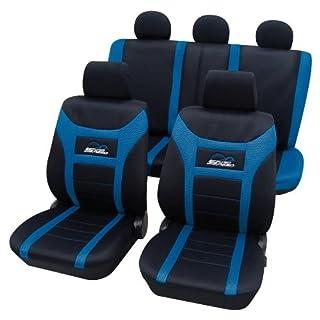 PETEX Sitzbezüge Sitzbezüge Universal Polyester blau (22974805)