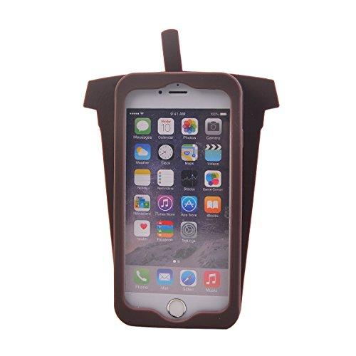 """COOLKE Mode 3D Style Cartoon Gel Soft silicone Coque Housse étui Case Cover Pour Apple iPhone 6s Plus / 6 Plus (5.5"""") - 020 006"""