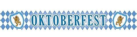 erdbeer-party - Motto-Party Deko Banner Oktoberfest, Werbebanner Bavaria Raute, Länge