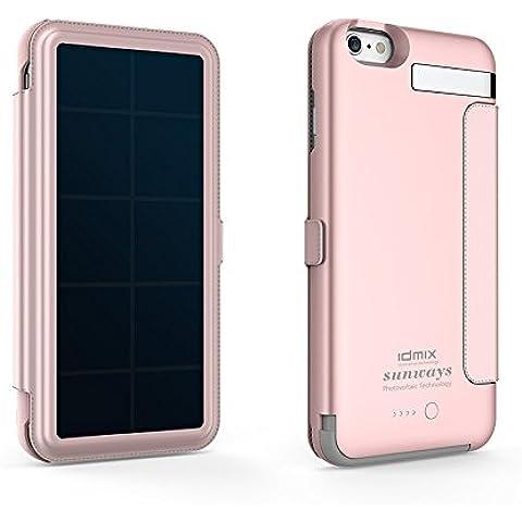 IDMIX iPhone 6S Plus energia solare ricaricabile batteria solare, iPhone