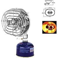 CampHiking Mini Calentador de Gas sin Gas Cilindros hornos de Horno portátil Estufa de calefacción con