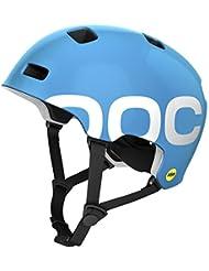 POC, Casco da ciclismo Crane Mips, Blu (Radon Blue), 59 - 62 cm