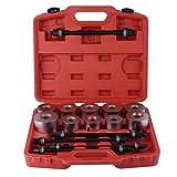 27pc Kit bussole estraibili, strumenti garage, set di utensili per l'estrazione rimozione cuscinetti a bronzina, adattatori presse