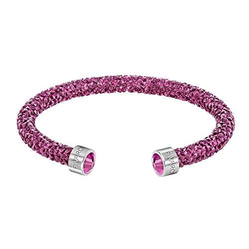 Swarovski Damen-Armreif Kristall pink 5.8 cm - 5273636