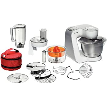 Amazon.de: Bosch MUM54W41 Küchenmaschine Styline MUM5 (900 Watt, 3.9 ...